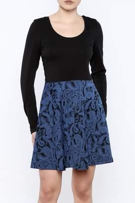 Vfish Designs Paisley Print Dress