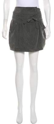 IRO Silk Mini Skirt