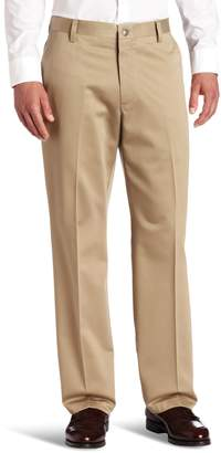 Dockers Never-Iron Essential Straight-Fit Flat-Front Pant D2, British Straight-Fit - discontinued