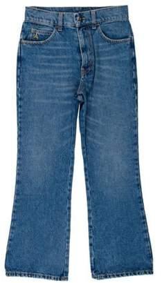 ATTICO High-Rise Wide-Leg Jeans blue High-Rise Wide-Leg Jeans