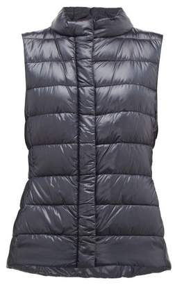 Herno Giulia Quilted Down Gilet - Womens - Navy
