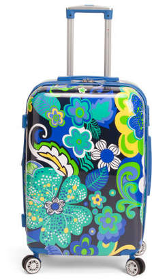 26in Floral Hardside Expandable Spinner