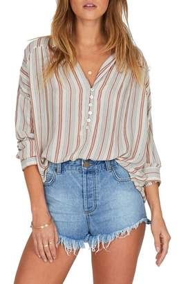 Amuse Society Sunny Shores Stripe Top