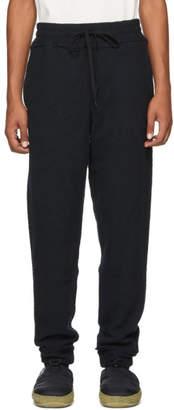 Kozaburo Black Raw Flat Seamer Lounge Pants