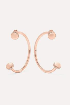 Piaget Possession 18-karat Rose Gold Diamond Earrings - one size