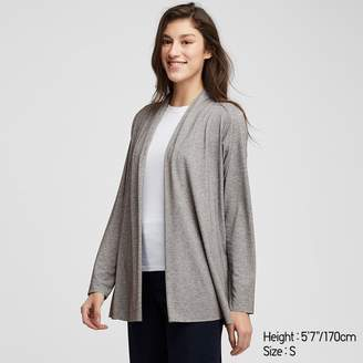 Uniqlo WOMEN AIRism UV Cut Seamless Stole Cardigan