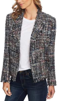 CeCe Multi Tweed Moto Jacket