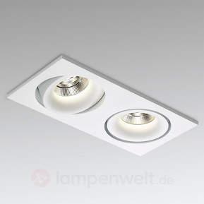 LED-Einbaustrahler Reo 2 S OK Soft S1 2-flg. weiß