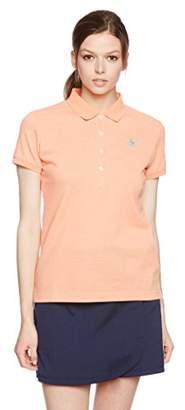 Munsingwear (マンシングウェア) - (マンシングウェア) Munsingwear 半袖シャツ(ニット) GWLJ201 A500オレンジ杢 LL
