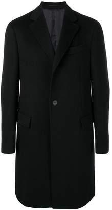 Salvatore Ferragamo cashmere front button overcoat
