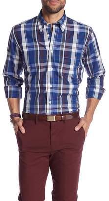 Brooks Brothers Plaid Print Regent Fit Shirt