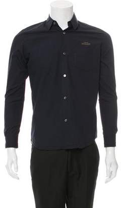 Undercover Text-Printed Button-Up Shirt w/ Tags