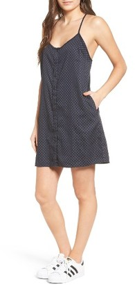 Women's Obey Sanders Slip Dress $57 thestylecure.com