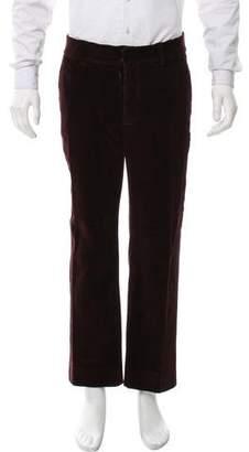 Maison Margiela Flat Front Corduroy Pants