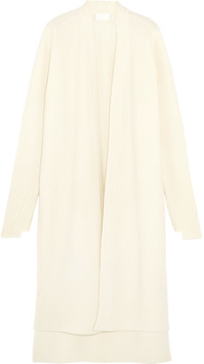 DKNY - Wool-blend Cardigan - Ivory $500 thestylecure.com