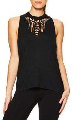 Gaiam Lena Laser-Cut Top