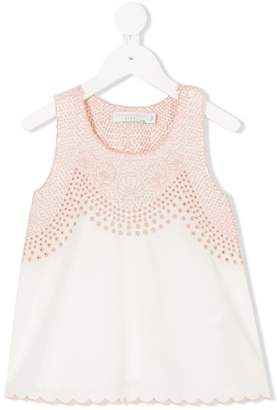 Stella McCartney Adriana embroidered blouse