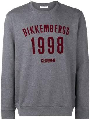 Dirk Bikkembergs logo print sweatshirt
