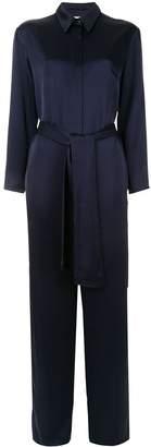 LAYEUR tie waist jumpsuit