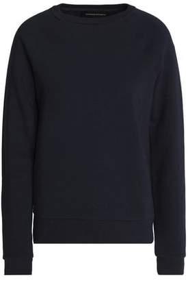 Vanessa Seward Embellished Cotton-Blend Terry Sweatshirt