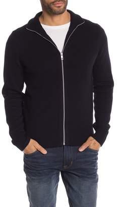 Rag & Bone Lance Merino Wool Zip Sweater