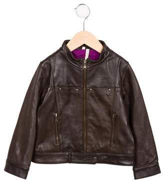 Bonnie Young Girls' Leather Jacket