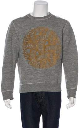 Louis Vuitton Velvet Motif Sweatshirt
