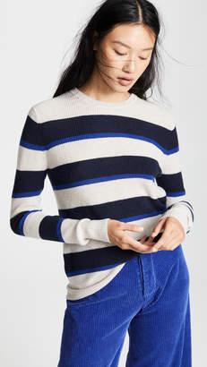 Autumn Cashmere Rugby Stripe Cashmere Sweater