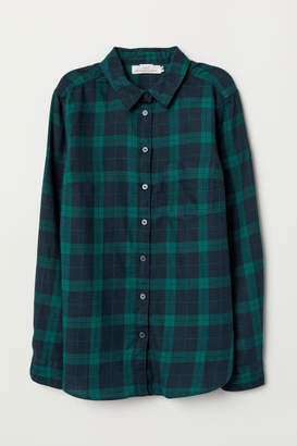 H&M Plaid Shirt - Blue