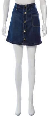 Frame Mini Denim Skirt w/ Tags