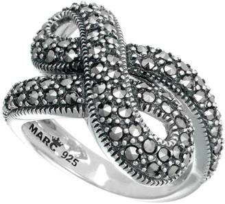 Suspicion Sterling Marcasite Infinity Ring