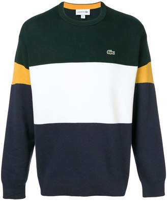 Lacoste colourblock sweater