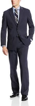 Jones New York Men's Graham Mini Stripe 2 Button Side Vent Suit