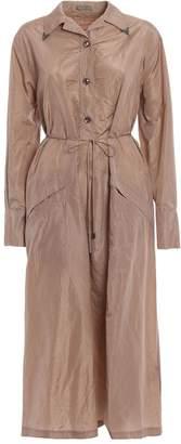 Bottega Veneta Taffeta Shirt Dress