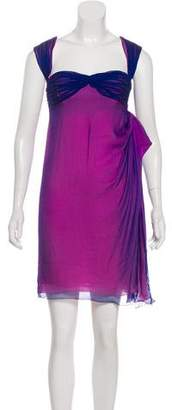 Ungaro Silk Draped Dress