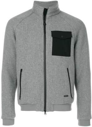 Woolrich contrast pocket jacket