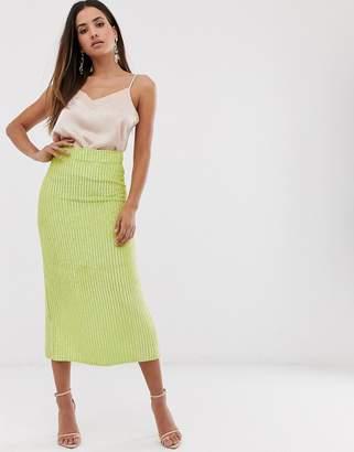 Asos Edition EDITION embellished midi skirt