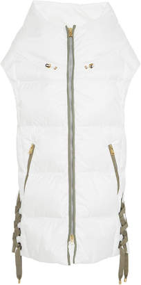 Bogner x White Cube Dorea Lace-Up Quilted Shell Hooded Vest