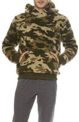 ATM Camo Sherpa Pullover Hoodie