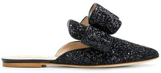 Polly Plume Betty bow slippers