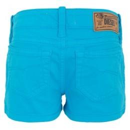 Diesel Blue Stud Denim Shorts
