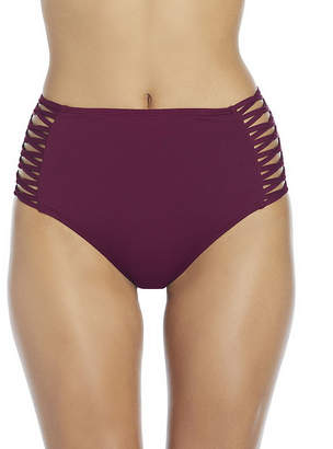 Ambrielle High Waist Swimsuit Bottom