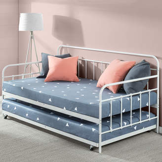 Webster Temple & Florence Single Metal Daybed with Trundle
