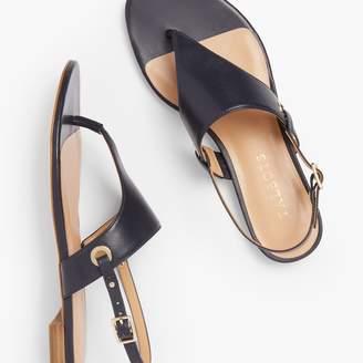 Talbots Keri Triangle Sandals - Nappa Leather