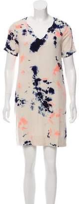 Raquel Allegra Silk Tie-Dye Dress