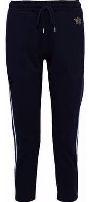 Markus Lupfer Daria Crystal-Embellished Jersey Track Pants