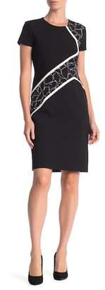 BOSS Dukatia Short Sleeve Dress