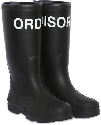 Undercover Printed Rubber Rain Boots