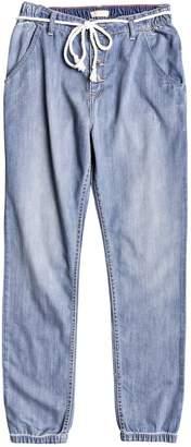 Roxy Womens Tropi Call - Denim Beach Pants - Women - M - Blue Blue M