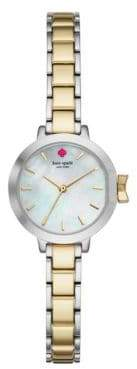 Kate Spade Park Row Two-Tone Stainless Steel Bracelet Watch